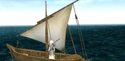 来到远洋渔船-远洋钓鱼 Mabinogi奇幻世界 攻略 探险