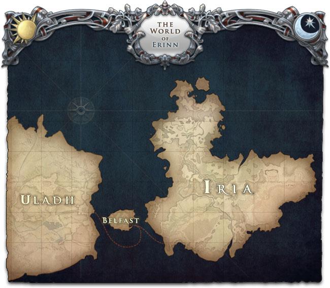 愛爾琳世界地圖