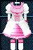 #235 衣服樣本 - 特拉哥德式連衣裙