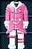 #236 衣服樣本 - 特拉哥德式龐克套裝