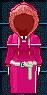 #361 衣服樣本 - 德魯伊的長袍 (女性用)
