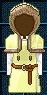 #359 衣服樣本 - 德魯伊的長袍 (男性用)