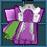 #384 衣服樣本 - 皇家獵人手套(男性用)