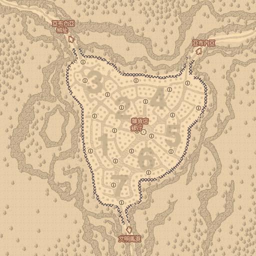 亞布內亞社區地圖