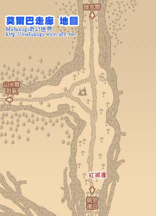 莫爾巴走廊地圖
