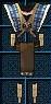 庫塞的科爾傳統服裝 (男性專用) 永久連結