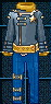 星星騎士服裝(男性用) 永久連結
