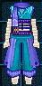 圖 - 克諾斯皮革盔甲(男性用)