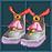 Tea Party兔耳鞋子(女性用) 永久連結
