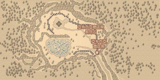亞布內亞商店街地圖