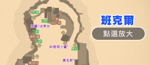 班克爾地圖