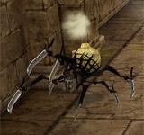 黑色硫磺蜘蛛 怪物永久連結