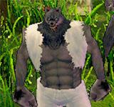 巨大狼人 怪物永久連結