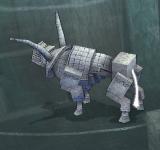 石頭野牛-尾巴發光 怪物永久連結