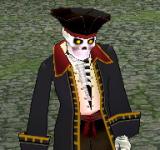 (困難)骷髏海盜船長 怪物永久連結