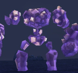 紫水晶巨魔像 怪物永久連結