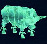 綠寶石野牛 怪物永久連結
