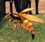 巨大雌性黃蜂 怪物永久連結