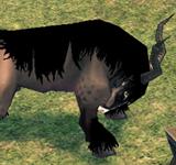 長角牛羚 怪物永久連結