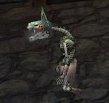綠色骷髏幽靈 怪物永久連結
