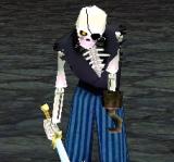海盜骷髏(藍) 怪物永久連結