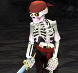 海盜骷髏(紅) 怪物永久連結
