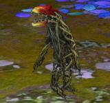 紅色食蟲植物 怪物永久連結