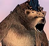 黑色異變的熊 怪物永久連結