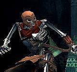 白銀骸骨弓箭手 怪物永久連結