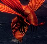 巨大緋紅飛蛾 怪物永久連結