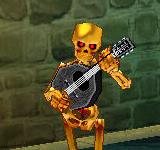 黃金骷髏吟遊詩人 怪物永久連結
