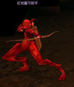 紅地靈弓箭手 怪物永久連結
