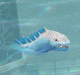 不安的形象(淺藍) 怪物永久連結