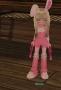 粉紅兔子!