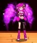 紫黑主題女吸血鬼獵人套裝