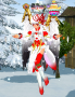 冬季水晶服裝